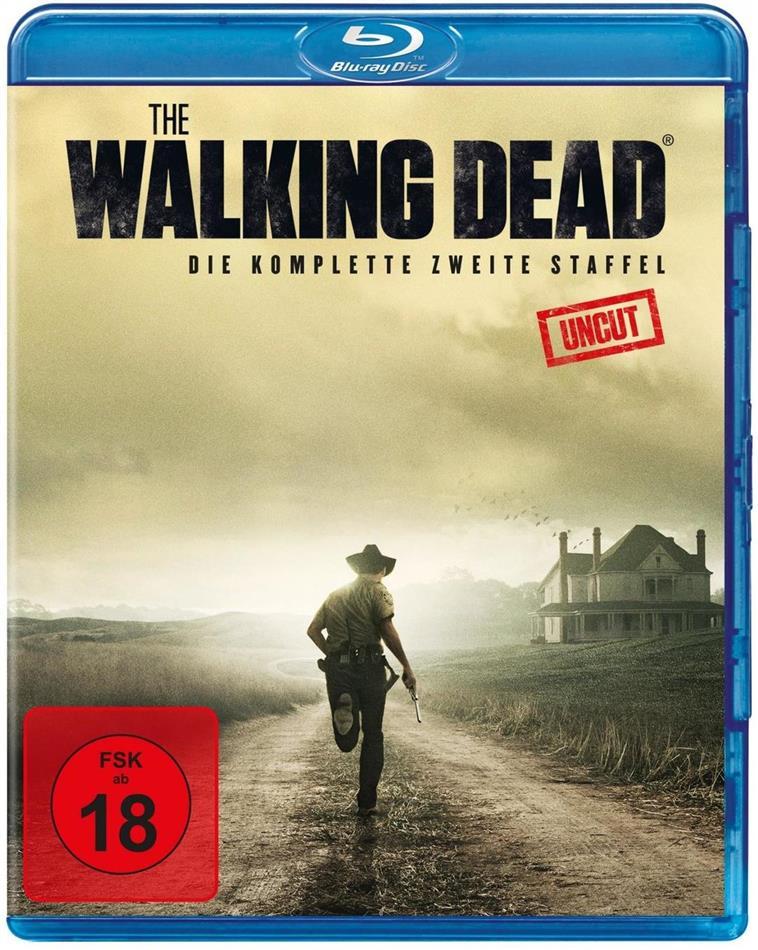 The Walking Dead - Staffel 2 (Uncut, 3 Blu-rays)