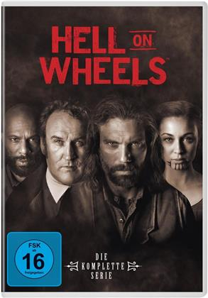 Hell On Wheels - Die komplette Serie (17 DVDs)