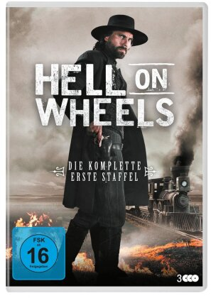 Hell On Wheels - Staffel 1 (New Edition, 3 DVDs)