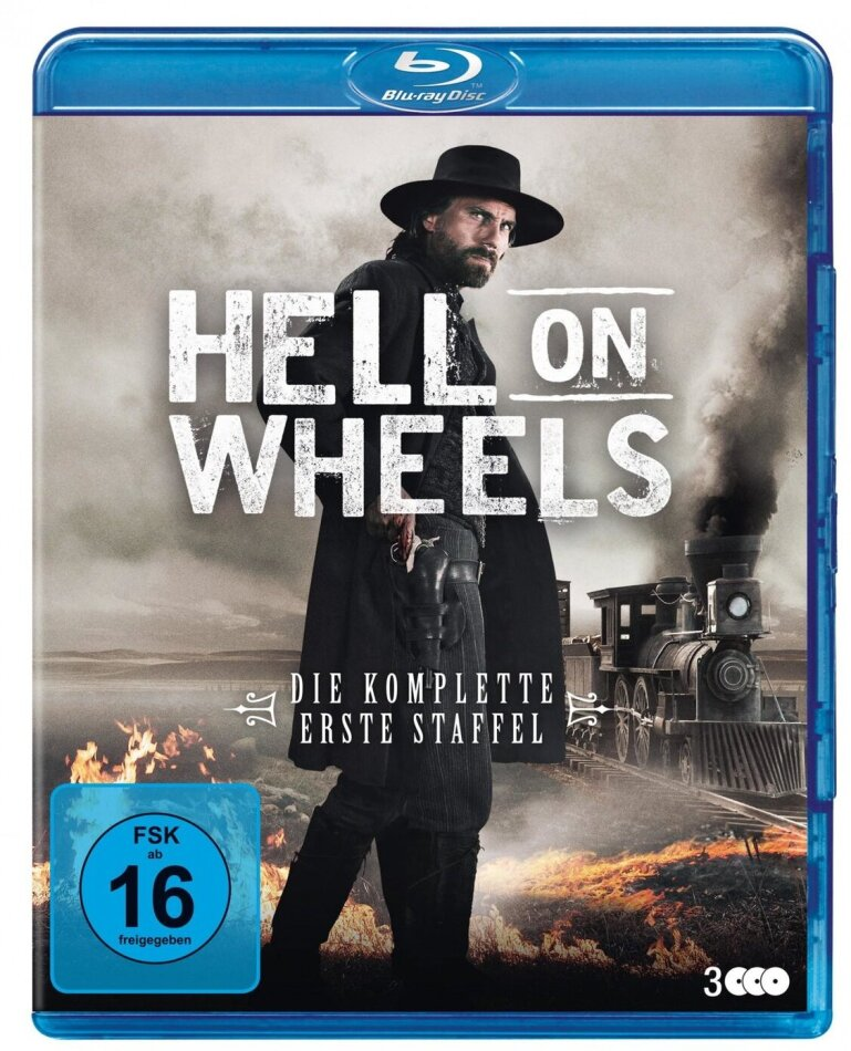 Hell On Wheels - Staffel 1 (New Edition, 3 Blu-rays)