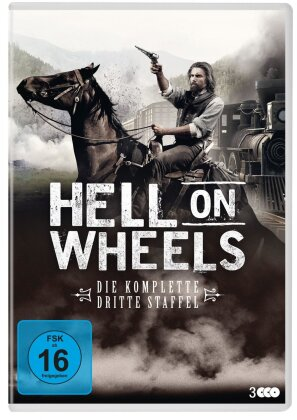 Hell On Wheels - Staffel 3 (New Edition, 3 DVDs)