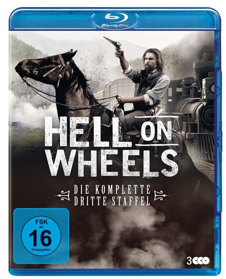 Hell On Wheels - Staffel 3 (New Edition, 3 Blu-rays)