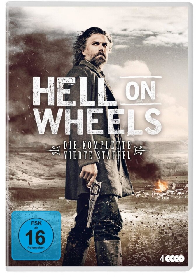 Hell On Wheels - Staffel 4 (4 DVDs)