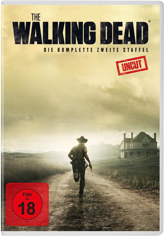 The Walking Dead - Staffel 2 (Uncut, 4 DVDs)