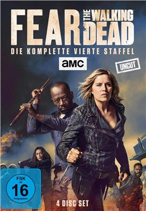 Fear The Walking Dead - Staffel 4 (Uncut, 4 DVDs)