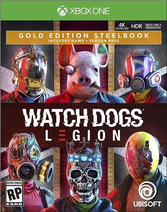 Watch Dogs Legion (Steelbook Gold Edition)