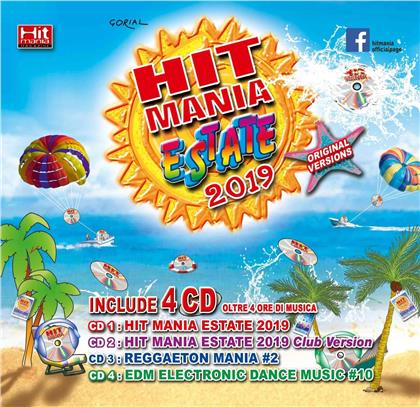 Hit Mania Estate 2019 - + Rivista (4 CDs)