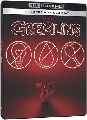Gremlins (1984) (Limited Edition, Steelbook, 4K Ultra HD + Blu-ray)