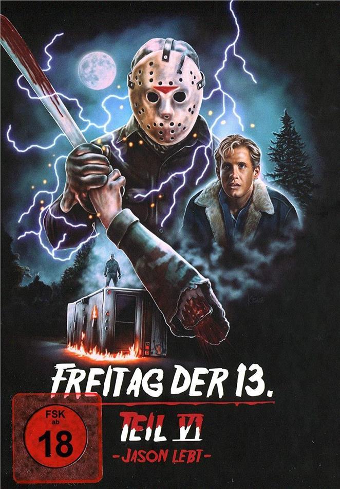 Freitag Der 13 Teil 6 Jason Lebt 1986 Cover D Edition Collector Limitee Mediabook Cede Com