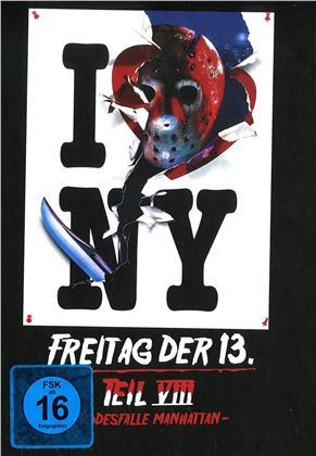Freitag der 13. - Teil 8 - Todesfalle Manhattan (1989) (Cover C, Collector's Edition Limitata, Mediabook)