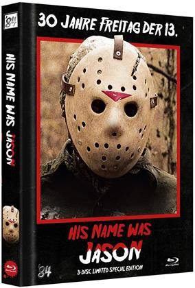 His name was Jason - 30 Jahre Freitag, der 13. (2009) (Cover B, Limited Special Edition, Mediabook, Blu-ray + 2 DVDs)