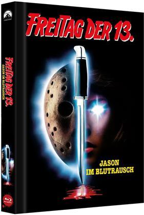 Freitag der 13. - Teil 7 - Jason im Blutrausch (1988) (Cover B, Limited Collector's Edition, Mediabook)