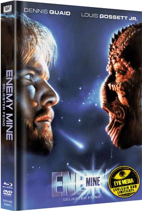 Enemy Mine - Geliebter Feind (1985) (Cover B, Limited Edition, Mediabook, Blu-ray + DVD)