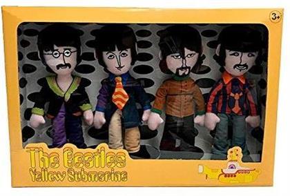 Beatles 4 Band Member Plush Box Set