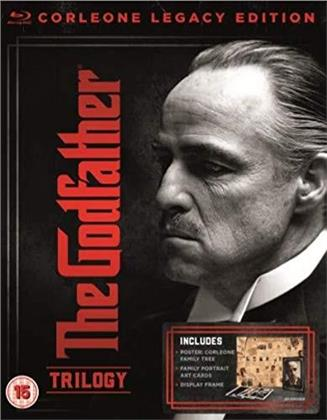 The Godfather Trilogy (Corleone Legacy Edition, 4 Blu-rays)
