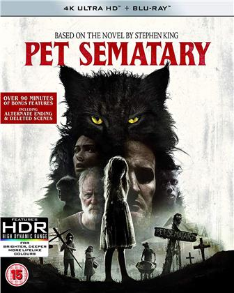 Pet Sematary (2019) (4K Ultra HD + Blu-ray)
