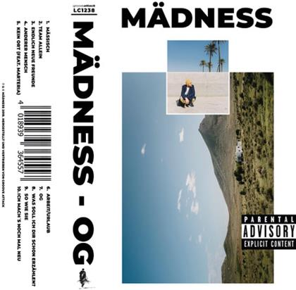 Mädness - OG (LP + Digital Copy)