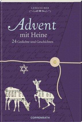 Lesezauber: Advent mit Heine - Briefbuch zum Aufschneiden