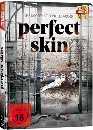 Perfect Skin - Ihr Körper ist seine Leinwand (Limited Edition, Mediabook, Uncut, Blu-ray + DVD)