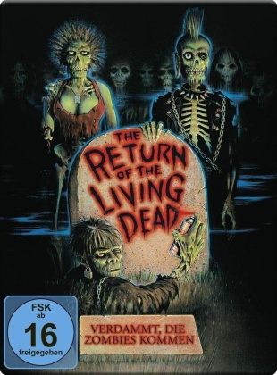 The Return of the Living Dead - Verdammt, die Zombies kommen (1985) (Limited Edition, Steelbook, 2 Blu-rays)