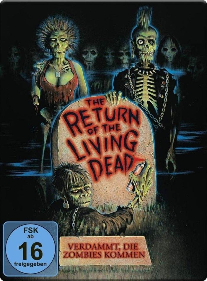 The Return of the Living Dead - Verdammt, die Zombies kommen (1985) (Limited Edition, Steelbook, 2 Blu-rays)