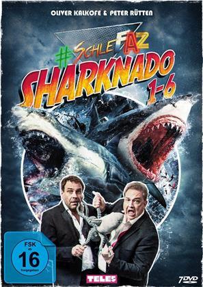Sharknado 1-6 (SchleFaZ - Die schlechtesten Filme aller Zeiten, 7 DVDs)