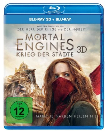 Mortal Engines - Krieg der Städte (2018) (Blu-ray 3D + Blu-ray)