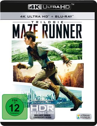 Maze Runner Trilogie (3 4K Ultra HDs + 3 Blu-rays)