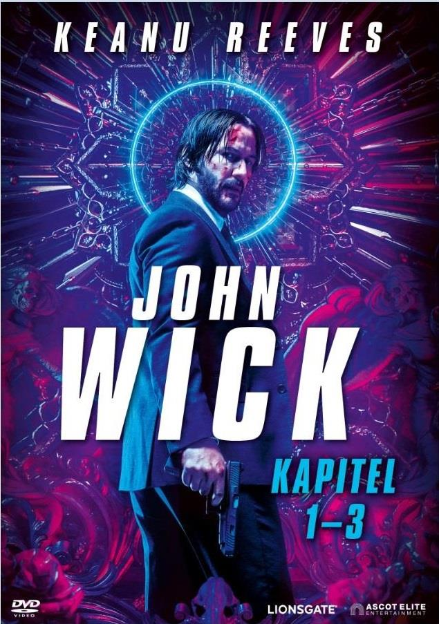 John Wick - Kapitel 1-3 (3 DVDs)
