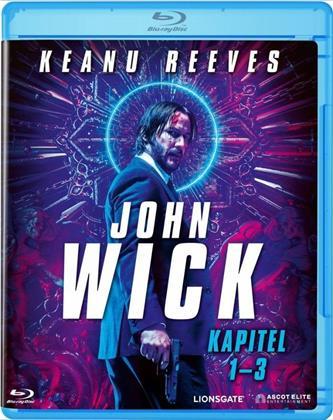John Wick - Kapitel 1-3 (3 Blu-rays)