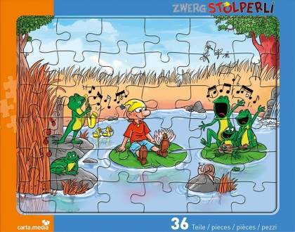 Zwerg Stolperli - Rahmenpuzzle