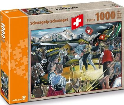 Schwägalp Schwinget - Puzzle