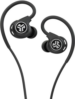 JLab Fit Sport Fitness Earbuds - black