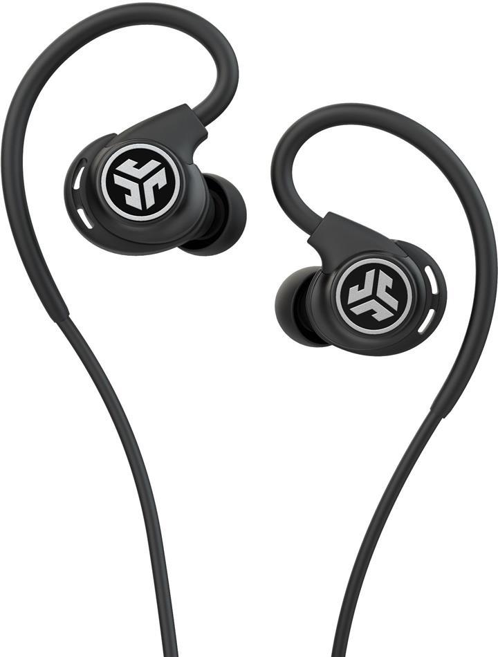 JLab Fit Sport Fitness Earbuds - black