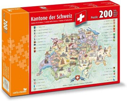 Kantone der Schweiz - Puzzle