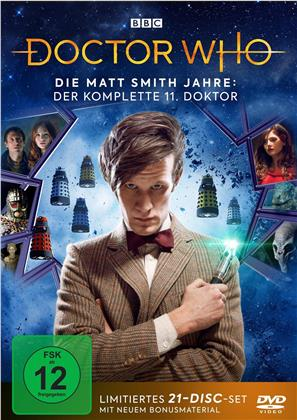 Doctor Who - Die Matt Smith Jahre: Der komplette 11. Doktor (Limited Edition, 21 DVDs)