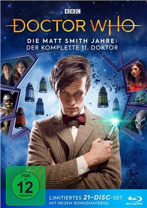 Doctor Who - Die Matt Smith Jahre: Der komplette 11. Doktor (Limited Edition, 21 Blu-rays)