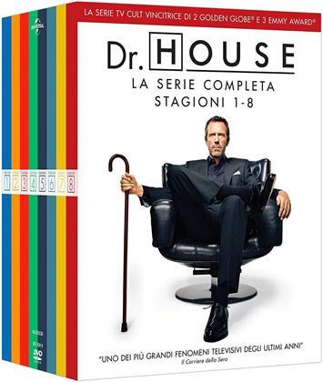Dr. House - Medical Division - La Serie Completa - Stagioni 1-8 (Riedizione, 46 DVD)