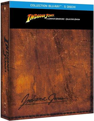 Indiana Jones - The Complete Adventure (Collector's Edition, 5 Blu-rays)