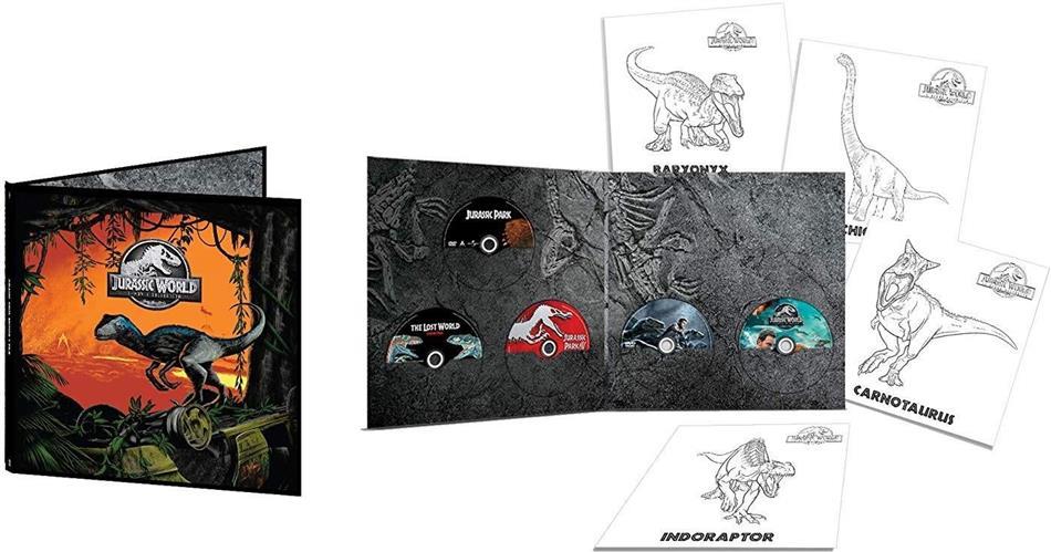 Jurassic World - 5 Film Collection - Vinyl Edition (5 DVD)
