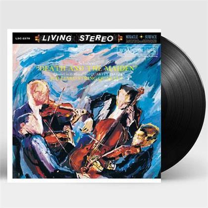 Juillard String Quartet & Franz Schubert (1797-1828) - Death And The Maiden - Streichquartette 12 & 14 (Living Stereo, Analogphonic, LP)