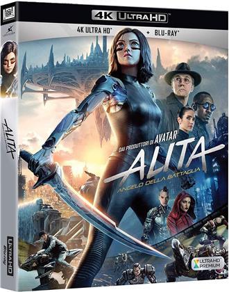 Alita - Angelo della battaglia (2018) (4K Ultra HD + Blu-ray)