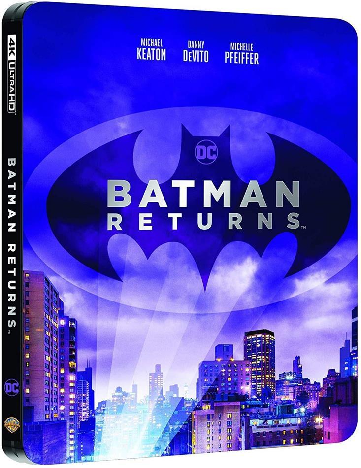 Batman - Il Ritorno (1992) (Steelbook, 4K Ultra HD + Blu-ray)