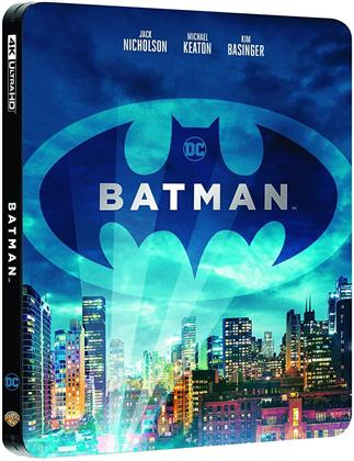 Batman (1989) (Steelbook, 4K Ultra HD + Blu-ray)