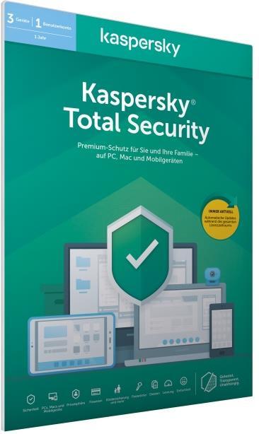 Kaspersky Total Security (Code in a Box) (FFP)
