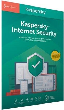 Kaspersky Internet Security 3 Geräte (Code in a Box) (FFP)