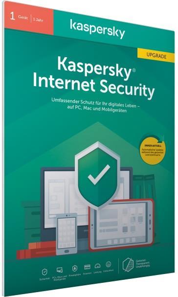 Kaspersky Internet Security Upgrade (Code in a Box) (FFP)