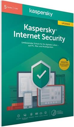 Kaspersky Internet Security 5 Geräte Upgrade (Code in a Box) (FFP)