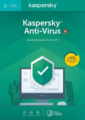 Kaspersky Anti-Virus (1 PC)