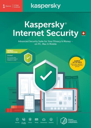 Kaspersky Internet Security (1 PC) [PC/Mac/Android]